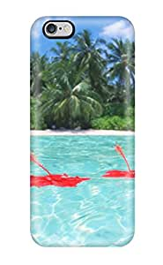 Best Special Design Back Maldives Holiday Beach Phone Case Cover For Iphone 6 Plus 7015437K84467516