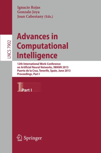 Advances in Computational Intelligence: 12th International Work-Conference on Artificial Neural Networks, IWANN 2013, Pu