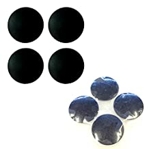 """BisLinks® 4 x Rubber Base Feet Replacement for MacBook Pro 13"""" 15"""" 17"""" A1286 A1297 A1278"""