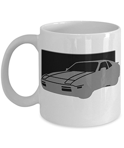 (Porsche 944 Mug - Classic Car 11oz and 15oz Ceramic Cup for Coffee Tea Drink - 15 oz)