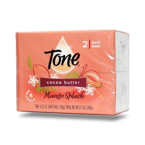 賢明な方向トチの実の木【Tone】トーン石鹸(マンゴスプラッシュ)120g×2個パック