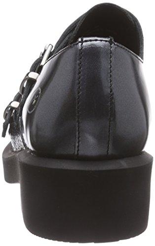 Multicolor 101 Gunmetal Para Bronxbcarlx Zapatos Mujer Derby Mehrfarbig q8I7AUw