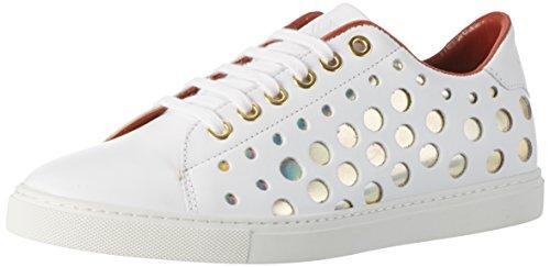 Berlin Lf173310 bianco Vitello Bianco donna da avorio Sneakers Liebeskind dfBcqd
