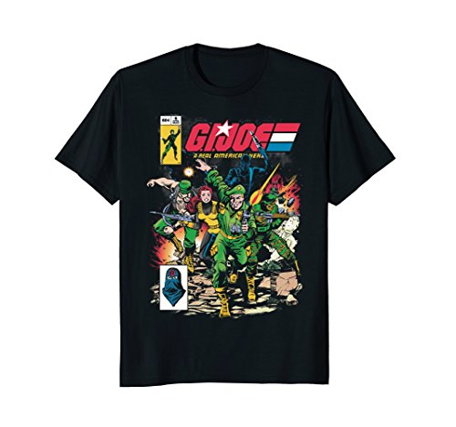 Joe Kids T-shirt - G.I. Joe Retro Comic Style T-Shirt