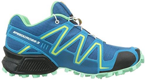 Azul Gree Blue para Asfalto de 3 Blue Blau Zapatillas Running SalomonSpeedcross Lucite Mujer Boss Darkness x0gqZF6