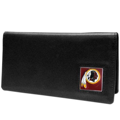(NFL Washington Redskins Leather Checkbook Cover)