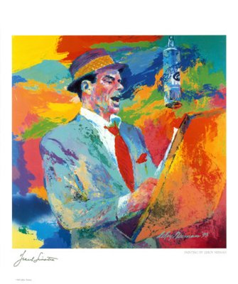 Frank Sinatra - LeRoy Neiman Art Print Poster