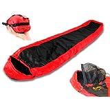 Snugpak Travelpak Lite Red Left Handed Sleeping Bag