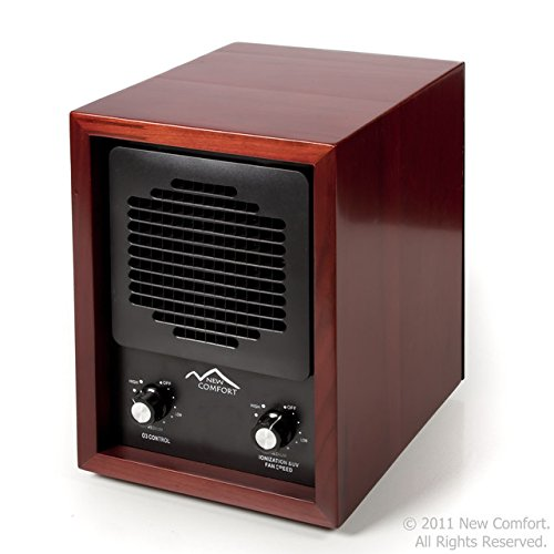 New Comfort Ozone Generator Air Purifier Color Cherry Wood