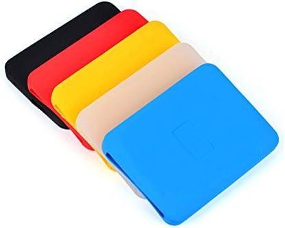GUANHE 2,5 pulgadas disco duro piel Protector resistente a golpes caucho de silicona funda carcasa de carcasa para disco duro externo Seagate, Sony, WD, Eaget, Toshiba, Lenovo: Amazon.es: Electrónica