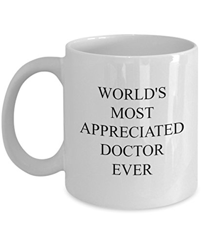 Badass Doctor Mug - World's Most Appreciated - Funny Coffee Gift Cup