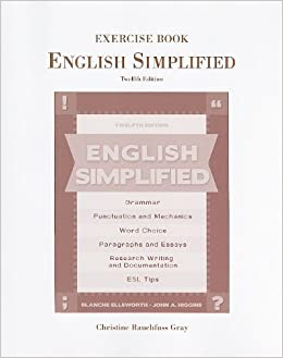 Book Exercise Book for English Simplified by John A. Higgins (2009-05-14)