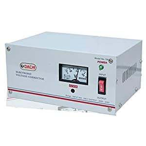 DACHI 0.5 KVA Voltage STABILIZER for Single/Double Door Refrigerator Upto 350 LTR./ Air Cooler/Computer from Input(90V…