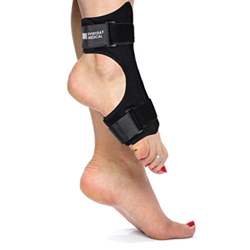 Everyday Medical Plantar Fasciitis Night Splint - Dorsal Night Splint for Plantar Fasciitis - Ergonomic Arch Foot Stretching Support with Bendable Bar - for Achilles Tendonitis, Heel Pain & Drop Foot by Everyday Medical (Image #4)