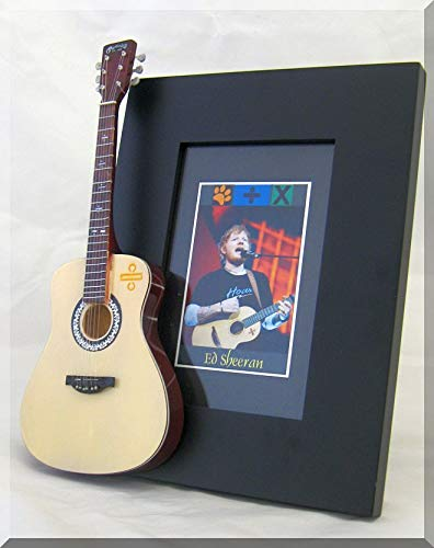 ARTSTUDIO35 ED Sheeran Marco de Fotos de Guitarra en Miniatura ...