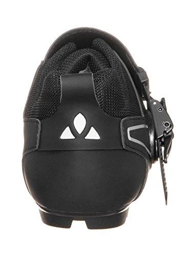 VAUDE Exire Advanced Rc, Zapatillas de Ciclismo de Carretera Unisex Adulto, Negro (Black/Silver), 37 EU