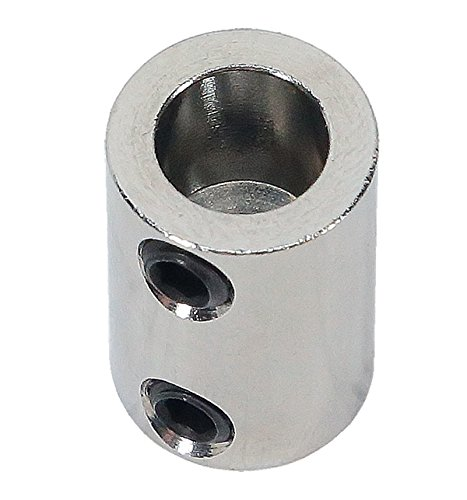 1/8 inch to 5/16 inch Stainless Steel Set Screw Shaft Coupler