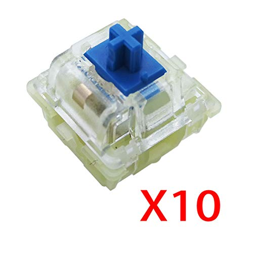 - Wholesales Authentic RGB Cherry Switch, Cherry Mx Switches, Keycap, Keyswitches Keymodule Mechanical Keyboard Switches Replacement (10 pcs, Blue 3 pin)