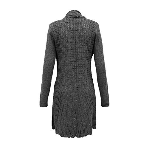 Femme Gilet gris charbon Generation Cardigan Fashion vaTxqB
