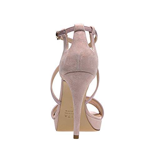 sandalette combinado Shoes Altrosa Mujer Valeria Evita ZAf8f