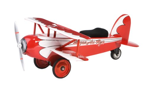 Kids Pedal Plane (Morgan Cycle Morgan Ace Flyer BiPlane)