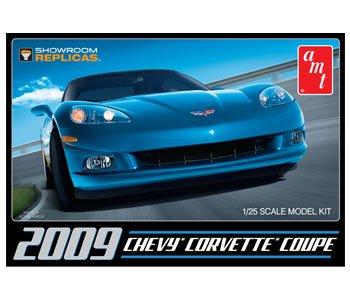 2009 Chevy Corvette Coupe 1/25 AMT/MPC