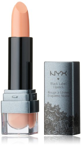 NYX Professional Makeup Black Label Lipstick, Nude, 0.96 Ounce