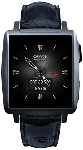 Omate X Smart Watch for iPhone and Android - Anthracite by Omate