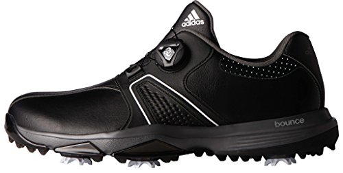 adidas Men's 360 Traxion Boa Cblack/Ft Golf Shoe, Black, 11 M US