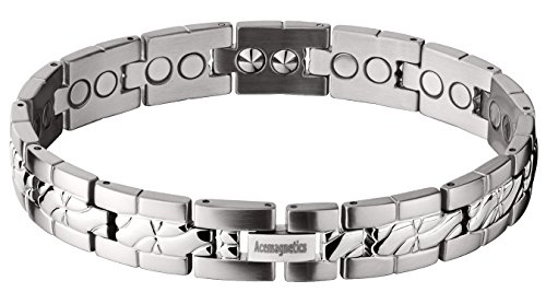 1CG Powerful Magnetic Bracelet & Negative Ion Inserts - 9 by AceMagnetics