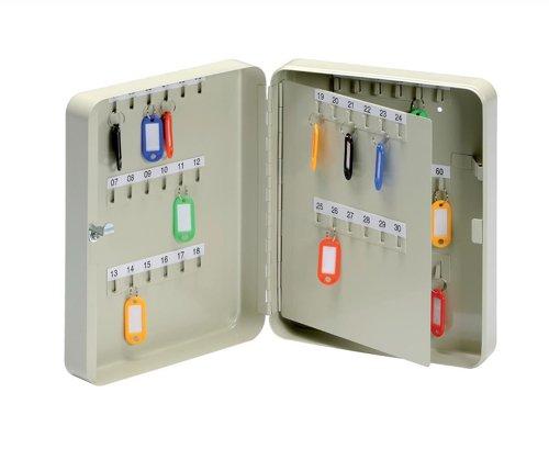 5 Star 918877 - Armario para llaves (con ganchos de acero, para 60 llaves) Helix Ltd