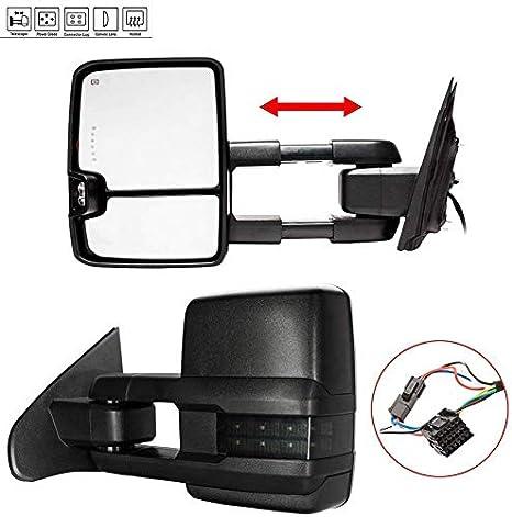 New Driver Side Mirror For GMC Sierra 2500 HD 2015-2017 GM1320458