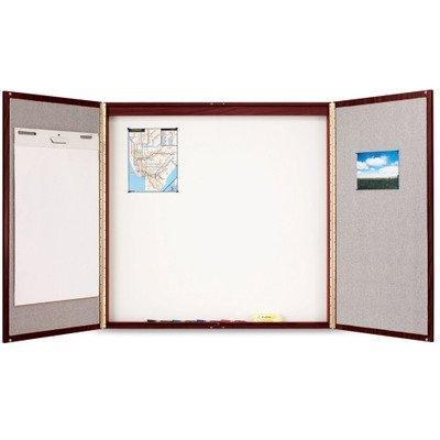 Quartet Cabinet, Fabric/Porcelain-on-Steel 878 by Quartet