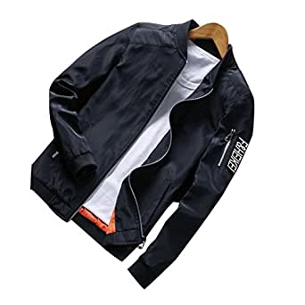 Real Spark Mens Casual Fashion Active Slim Fit Hoodie Zip-Up BlackXXS