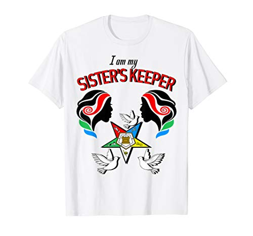 Order Of The Eastern Star Master Logo OES My Sister's Keeper T-Shirt