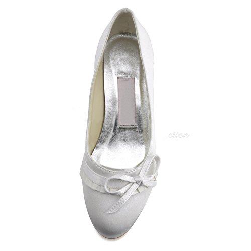 Minitoo Scarpe Heel 4cm White Col Tacco Donna Orqd4wO