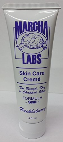 Wool Wax Creme Skin Care Formula SMI 4 oz (Huckleberry Lotion)