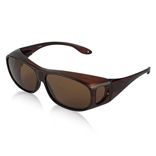 Over Glasses Sunglasses For Men And Woman Womens Oversize Car Best Fits ()