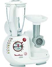 Moulinex Odacio Food Processor, FP7371BM, 1000 watts, juice+ mince+ blend, White, Plastic