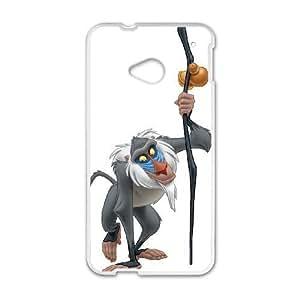 HTC One M7 Cell Phone Case White Disney The Lion King Character Rafiki SLI_513153