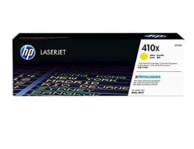 HP 410X (CF412X) Yellow High Yield Original LaserJet Toner Cartridge