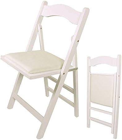SoBuy/® FST40-HG Chaise pliante en bois avec assise rembourr/ée Bureau Chaise pliable pour Cuisine etc.