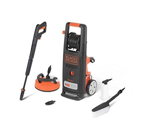 Black+Decker BXPW2200PE Idropulitrice ad Alta Pressione con Patio Cleaner Deluxe e Spazzola Fissa (2200 W, 150 bar, 440 l/h) 1 spesavip