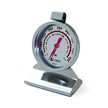CDN DOT2 – ProAccurate Oven Thermometer – Large Dial, Stainless Steel, NSF Certified