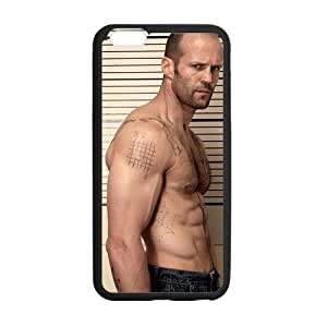 Custom Jason Statham Design PC and TPU Phone Case Cover Laser Technology for iPhone6 Plus 5.5