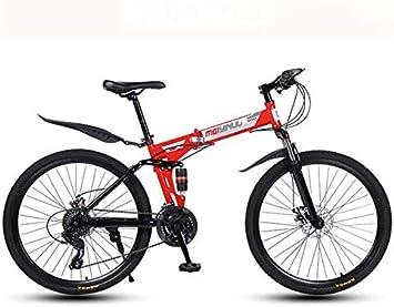 GASLIKE Bicicleta Plegable de Bicicleta de montaña para Hombres y ...