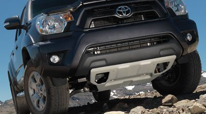 2005-2013 TOYOTA TACOMA FRONT SKID PLATE by - Cruiser Skid Fj Plates Toyota