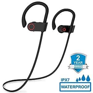 Auriculares Bluetooth 4.1, ARTHOME Auriculares Inalambricos, Auriculares Deportivos Bluetooth, Cascos Bluetooth Inalambricos, Manos Libres Bluetooth, Estéreo de Diseño, Micrófono Incorporado, Cancelac