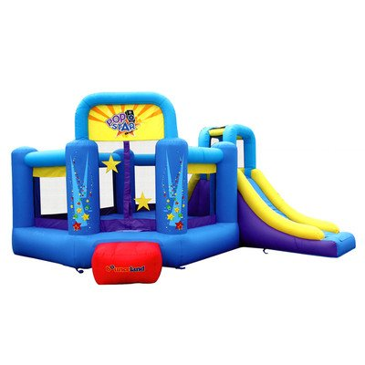 Bounceland Pop Star Inflatable Bounce House Bouncer - Bounce Houses Water Slides