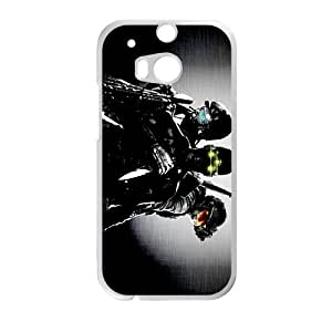 HTC M8 Case,Ufc Mma Martial White Customized Phone Case For HTC M8